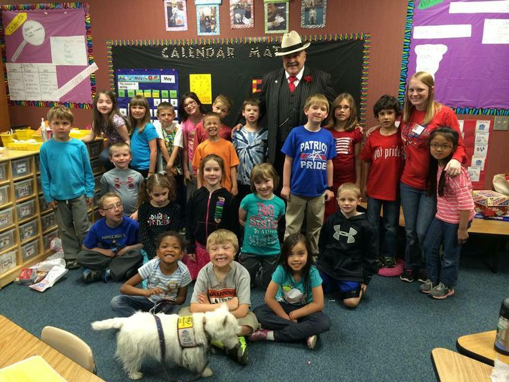 The Godfather Visited Patriot Elementary School In