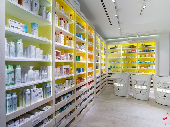 Boticana pharmacy by Marketing Jazz, Jaén Spain pharmacy office healthcare