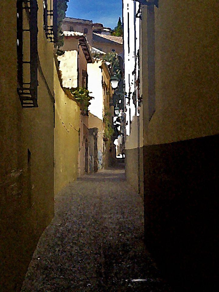 Barrio de El Albaicín. Granada.   #albaicin #granada #granadatours #andaluciatours #andalusiaguidedtours #privatetours
