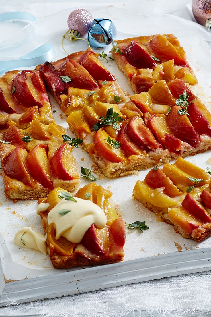 Delightfully simple, this peach and nectarine tart lets these fresh summer stone fruit shine. Just serve with a dollop of cream for an after-dinner treat that won't disappoint!