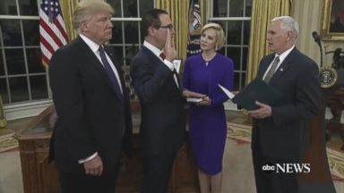 Now Playing: Steven Mnuchin sworn in as Treasury Secretary       Now Playing: National Security Advisor Michael Flynn is under fire       Now Playing: President Trump and Canadian Prime Minister Justin Trudeau glossed over their differences on Syrian refugees       Now Playing: Senate... http://usa.swengen.com/trump-adviser-doubles-down-on-presidents-voter-fraud-claims-video/