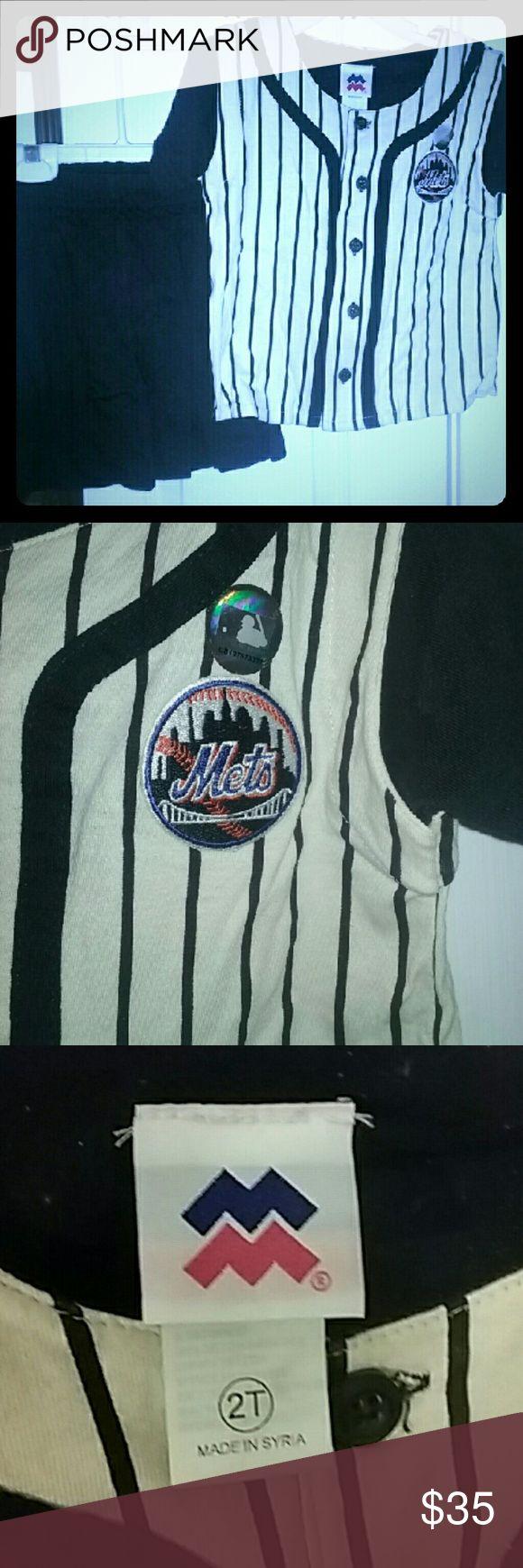 Selling this MLB  New York Mets Toddler Clothing on Poshmark! My username is: sbar183. #shopmycloset #poshmark #fashion #shopping #style #forsale #Might Mac Sports MLB #Other