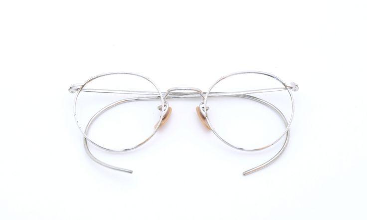 American optical ヴィンテージ メガネ[1930's American Optical Ful-vue (small)] | PON MEGANE | JAPAN