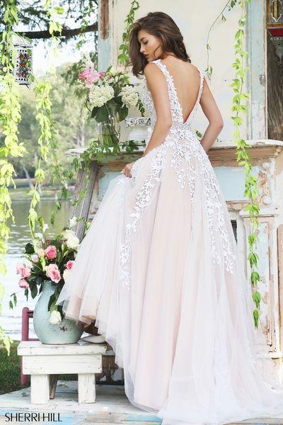Sherri Hill wedding dress 2016