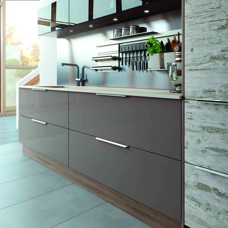Lastra vintage grey bardolino 1200mm drawer units for Kitchen cabinets 1200mm