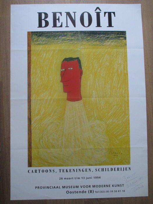 Benoit Van Innis - 'Cartoons,Tekeningen,Schilderijen' - 1994