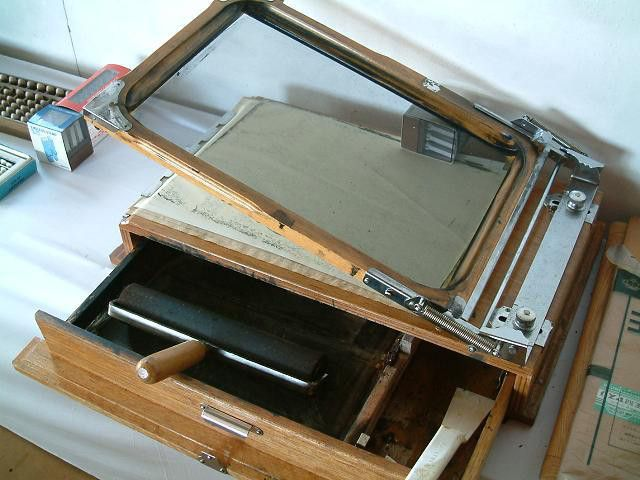 謄写版(ガリ版)印刷機