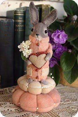 Mr. Lonely Heart...handmade by spmousedroppings.blogspot.com