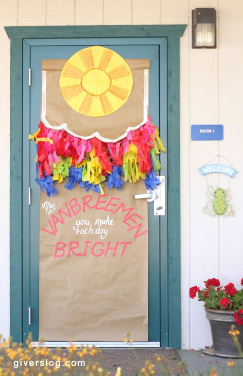 Classroom Door Decoration Teacher Appreciation Week : Teacher appreciation door ideas a collection of kids and