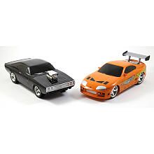 Fast and Furious 1:16 Scale Remote Control Car Twin Pack  Doms Charger R/T and Brians Toyola Supra