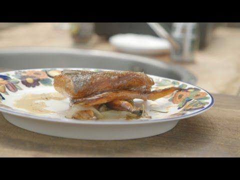 Sprød, skindstegt ørred med rodfrugter | Musholm