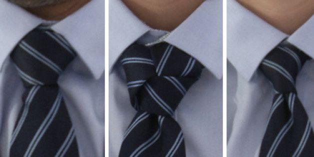 VIDÉO. Nœud de cravate: trois tutos pour la saison des mariages                                                                                                                                                                                 Plus