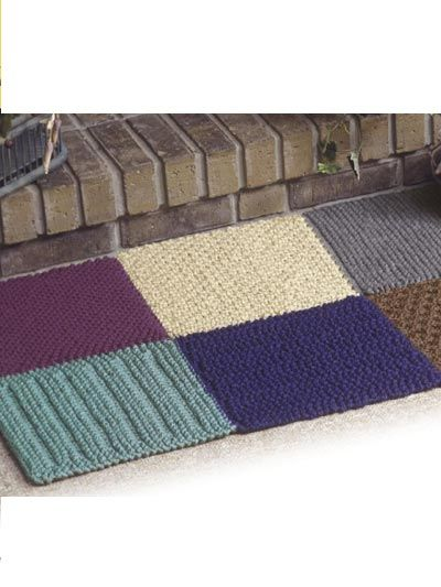 Knit Rug Pattern : 25+ best ideas about Knit rug on Pinterest Crochet carpet, Knitted rug and ...