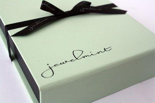 jewelmint box #packaging
