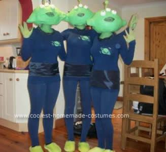 coolest toy story alien group costume - Toy Story Alien Halloween Costume