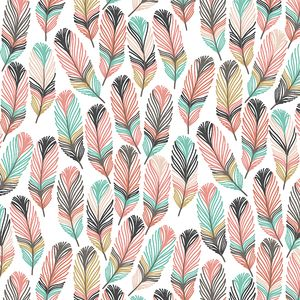 Hawthorne Threads - Feathers - Feathers in Tulip