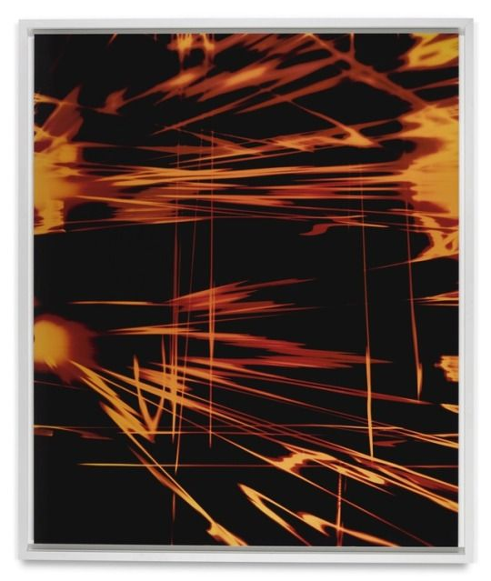 Wolfgang Tillmans    Super collider A  .  c-print.  182.9 by 152.4 cm.   executed in 2001