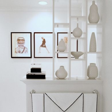 Storm Interiors | White Shelves