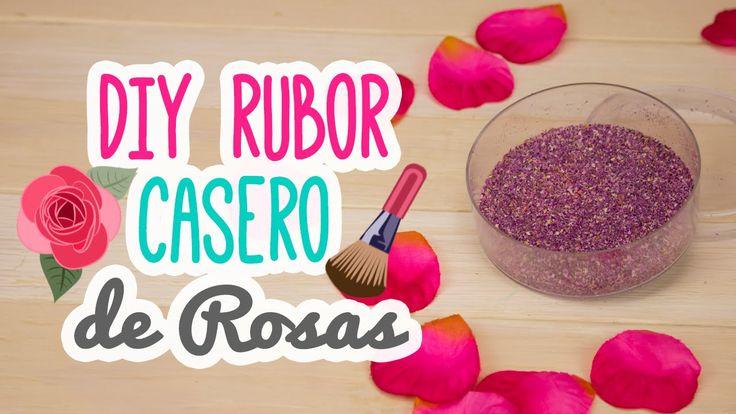 Rubor Casero con Pétalos de Rosas! ♥ SIN colorante   Haz tu propio maqui...