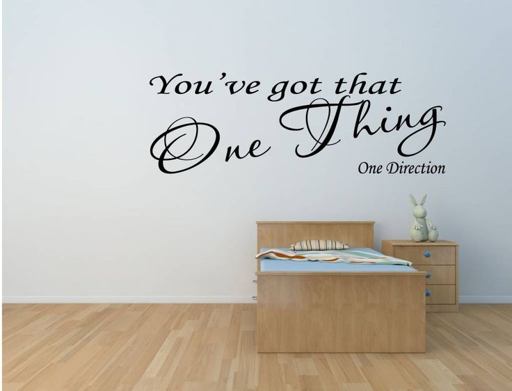 One Direction  One Thing Lyrics Art Wall. 74 best Muziek teksten muurstickers images on Pinterest   Marilyn
