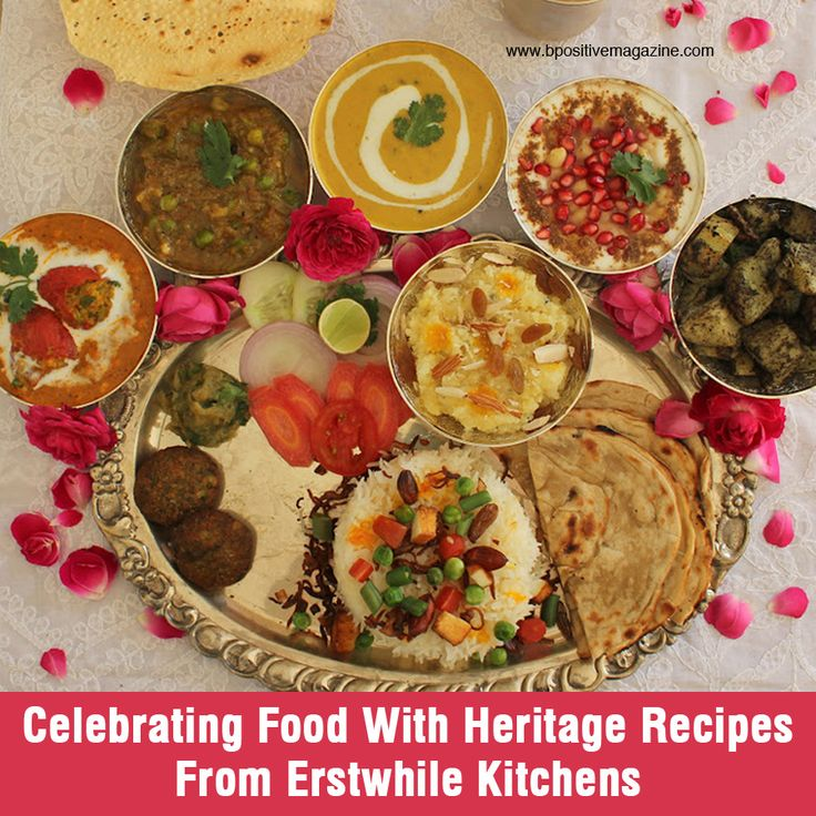 Discover heritage #recipes from the #erstwhile kitchens, especially for #foodlovers out there.