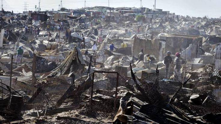 Joe Slovo settlement - Western Cape