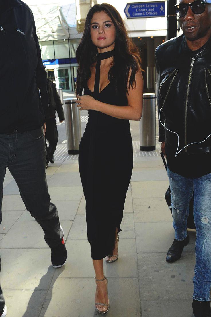 Top 25 Best Selena Gomez Black Dress Ideas On Pinterest