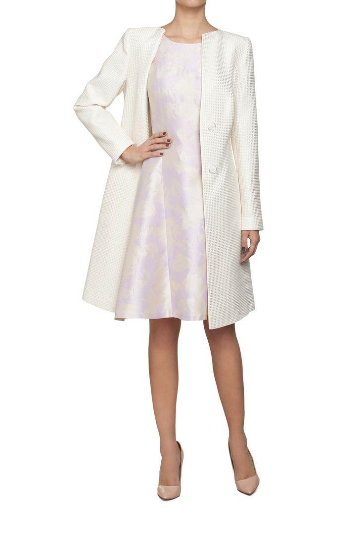 Rozkloszowana sukienka herbacioany róż | Ubrania \ Sukienki \ Mini Ubrania \ Sukienki \ Koktajlowe Ubrania \ Wszystkie ubrania PROJEKTANCI \ Aryton Sukienki Wszystkie ubrania W tym tygodniu | MOSTRAMI.PL