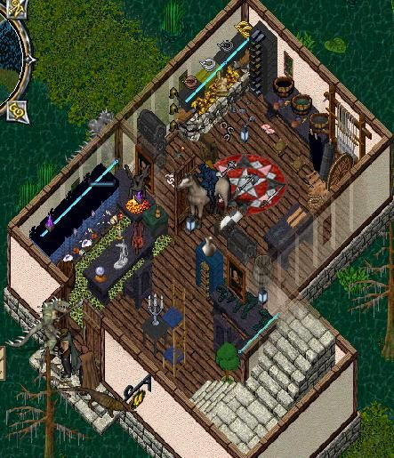 Ultima online house decoration
