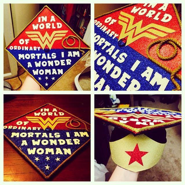Jordan Hubbert's Wonder Woman Graduation Cap. Top Business Graduate Schools. New Years Eve Flyer. Blank Playing Card Template. Black Business Card Template. Unique Sample Objectives For Resume. Graduate School Of Journalism. Fancy Menu Template. Free Ms Office Template