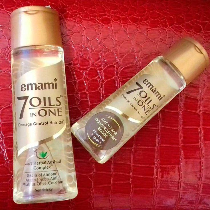 Чудо-масло для наших волос 7 в 1 Emami. Масло сделано на основе таких массел: Миндальное, Аргановое, Жожоба, Амла, Грецкого ореха, Оливковое, Кокосовое. Отлично восстанавливает поврежденные волосы.