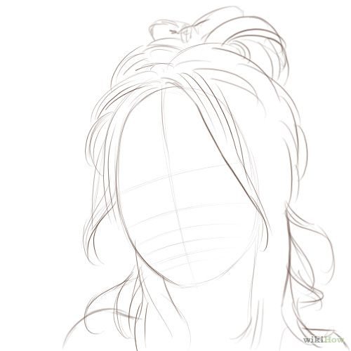 Love the sketchy hair here!