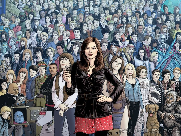 The Infinite Companion by PaulHanley on deviantART. Every Doctor Who companion from every show, book, comic book, and audio book ever written.