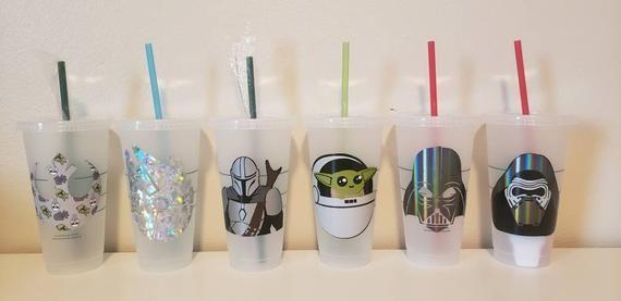 Star Wars Starbucks Cup Disney Starbucks Cup Starbucks Cup Etsy