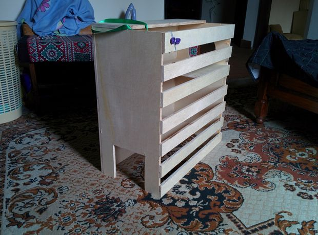 Picture of Ply wood cat house
