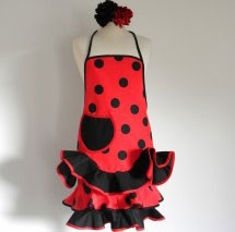 Spaanse flamenco schorten