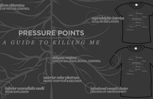 Pressure Points Shirt
