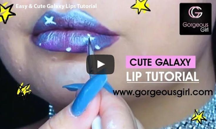 Aren't you amazed by the galaxy look in the movie? Or is it the Guardians Of The Galaxy; that impressed you the most? Surely its the dramatic galaxy look that took everyone's attention. If you love galaxy and stars, flaunt this sparkling galaxy look on your lips. Yes! You heard it right !