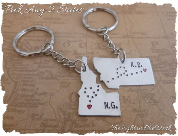 Personalized Long Distance Love   State Key by thelightandthedark1