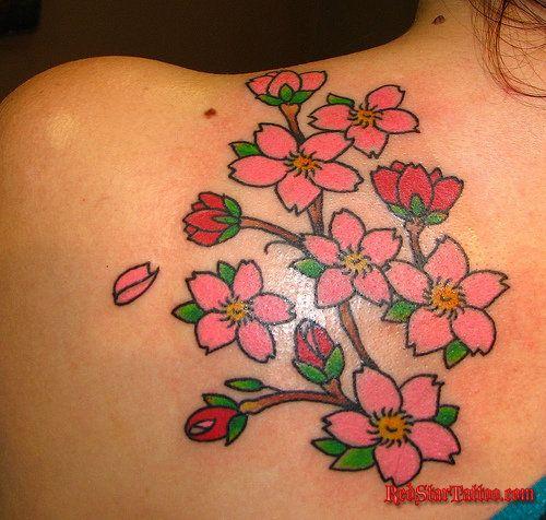 Flower Tattoos | Red Star Tattoo