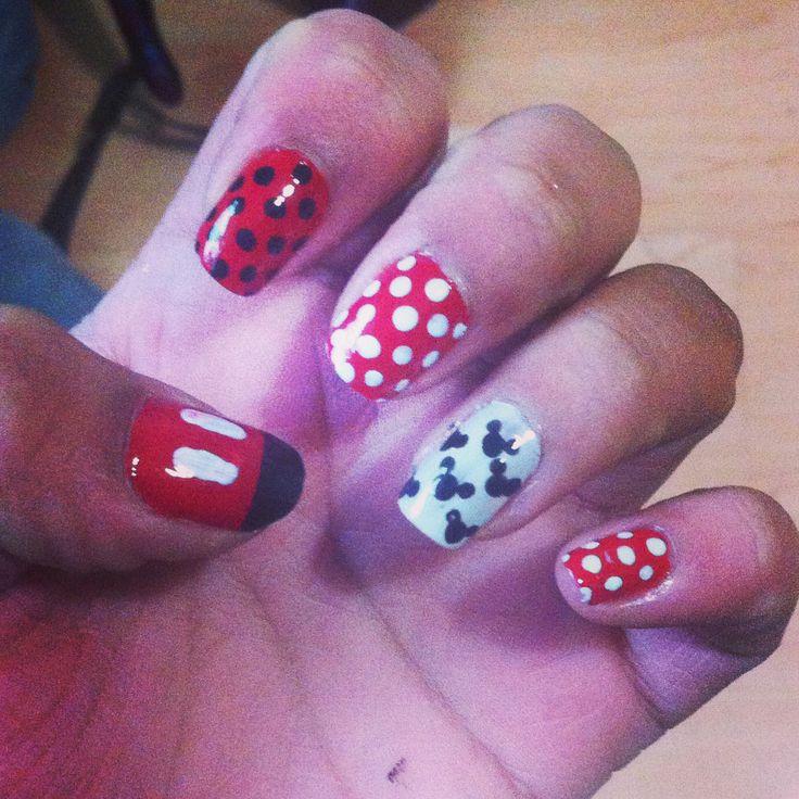 #nails #manicure #Mickey