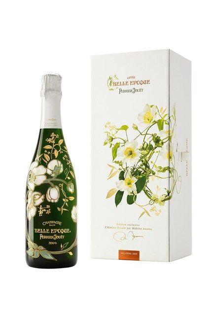 Perrier Jouet Belle Epoque Champagne - Prettiest Drinks Bottles - Cocktails To Make (houseandgarden.co.uk)