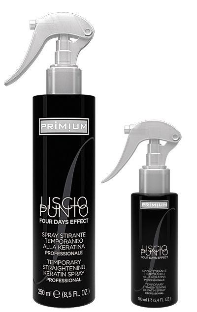 Spray stirante temporaneo alla #cheratina.  Indicato per tutti i tipi di #capelli, anche permanentati e decolorati. Risultato garantito dai 4 ai 7 giorni!