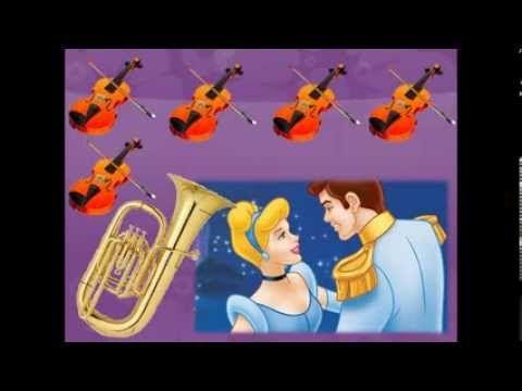 Musicograma MARCHA RADETZKY J. STRAUSS. La cenicienta - YouTube