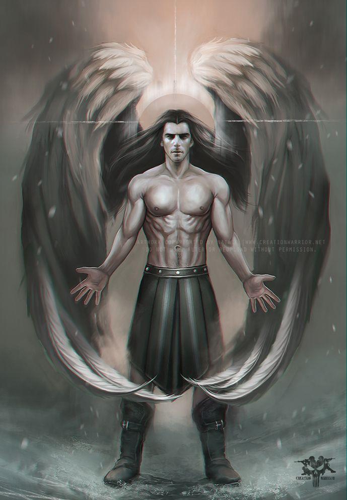 Guardian Angel by nathie.deviantart.com on @deviantART