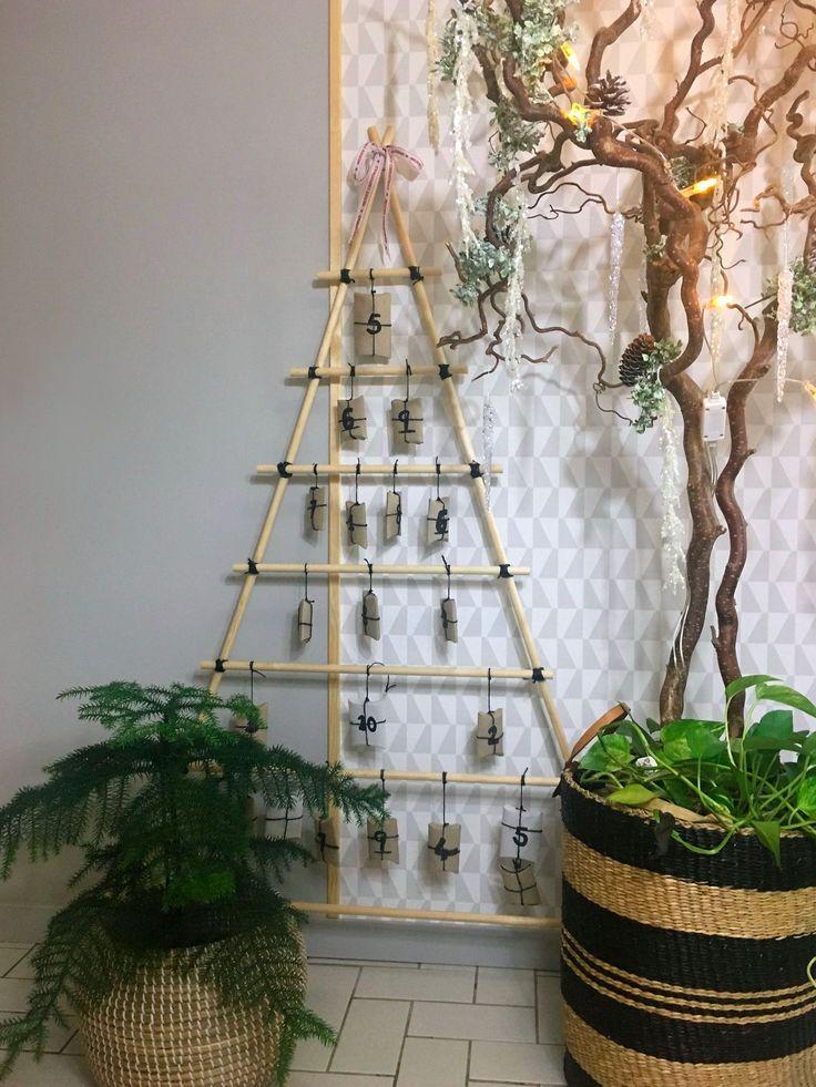 Hemmagjord Julkalender - gran | homebysturgess Blogg