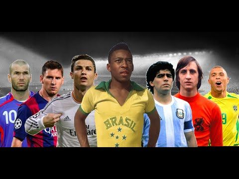 Top 20 Best Football Players of All Time • HD - YouTube