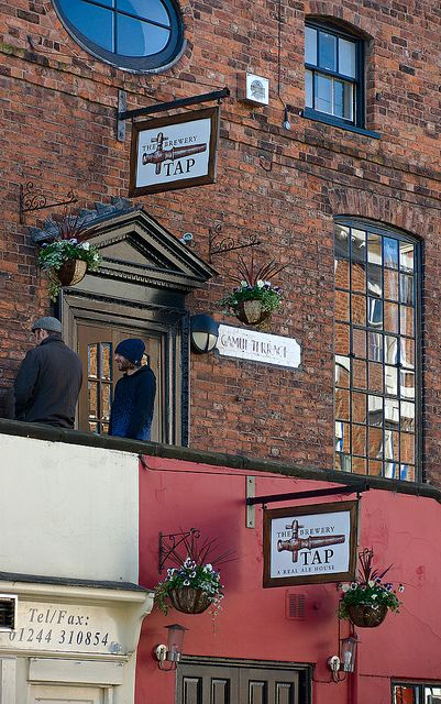 The Brewery Tap - Pub at Bridge Street, Chester, England by Dmitry Shakin, via Flickr.