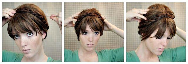 she has a TON of easy to follow hair DIY
