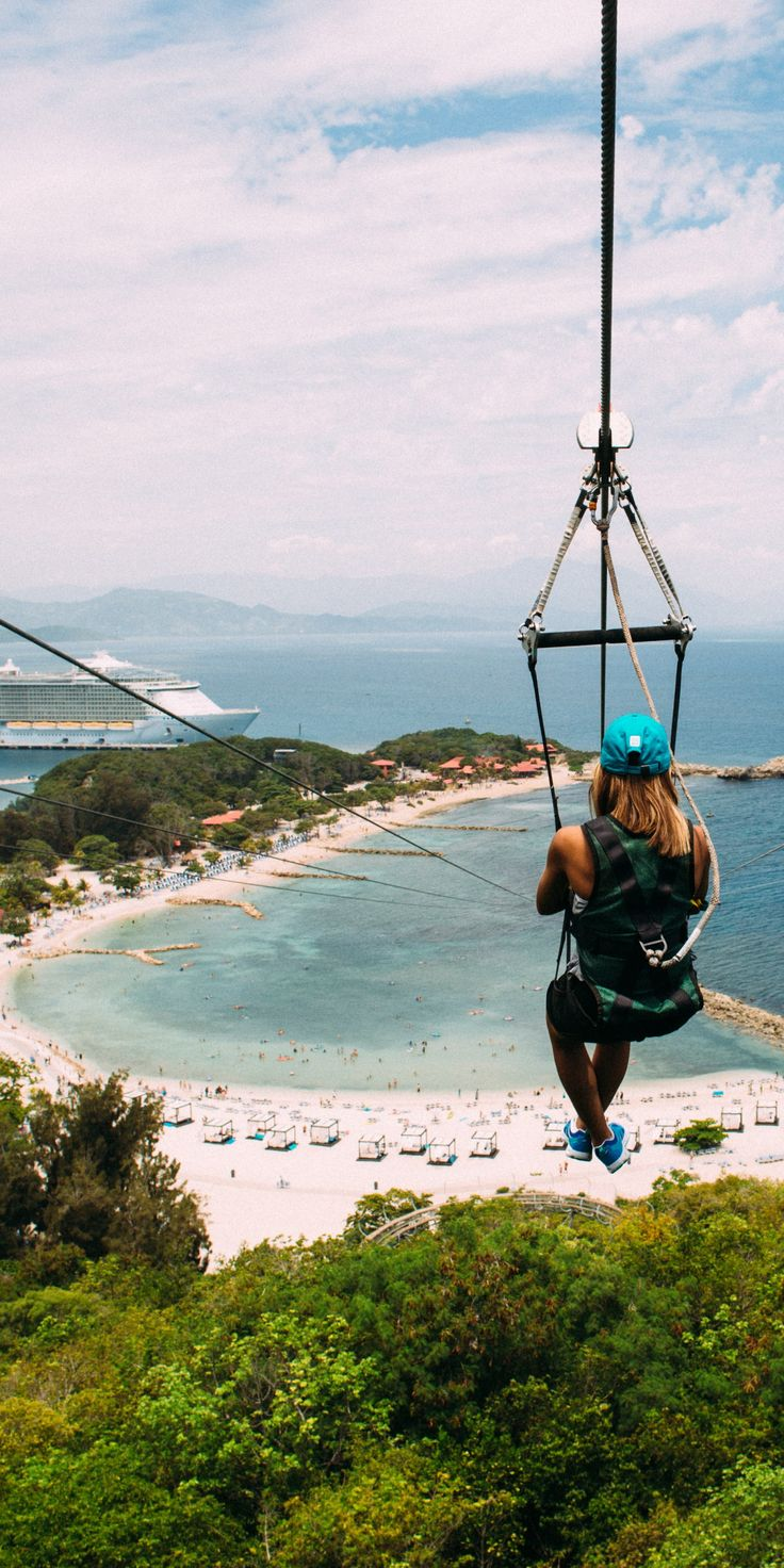 Labadee, Haiti | Boasting the world's longest over water zip line at 500 feet, this private cruise destination offers adventure, exploration, relaxation and much more to make every vacation one to remember.